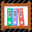 binder rack, file rack, file holder, file shelf, binder shelf