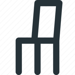 chair, desk, meeting, office, restaurant, seat icon