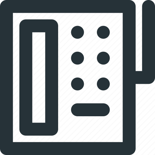 communication, landline, phone, talk, telephone icon
