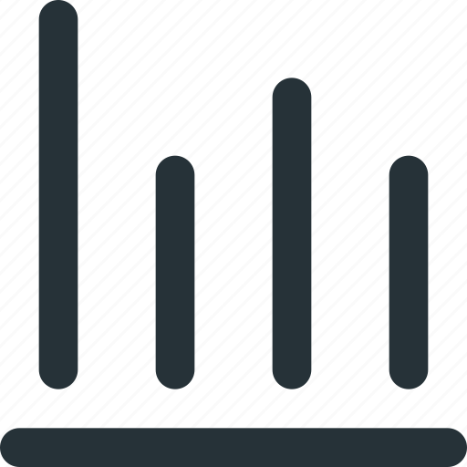 analytics, chart, diagram, graphs, level icon