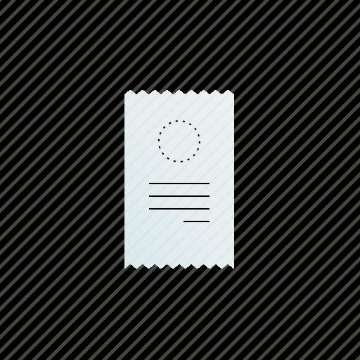 billing, receipt icon