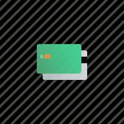 bank, card, cash, credit, debit, finance, payment icon