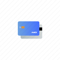 amex, bank, card, cash, credit, money, payment icon