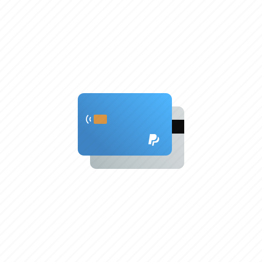 bank, card, cash, credit, money, payment, paypal icon