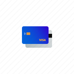 bank, card, cash, credit, finance, payment, visa icon