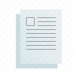 documents, picture, text, with icon