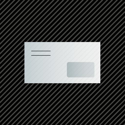 envelope, window, with icon