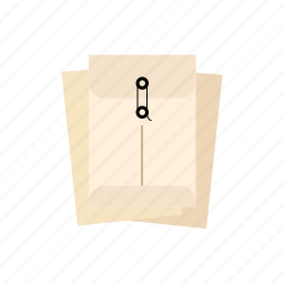 envelopes, string, with icon