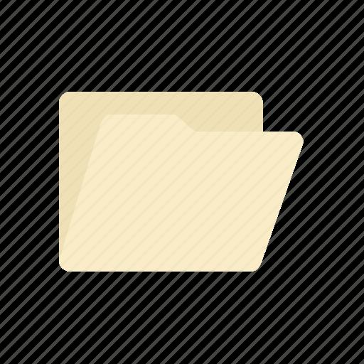 folder, horizontal icon