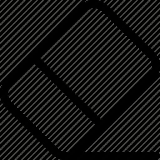 delete, edit, erase, eraser, remove, rubber icon