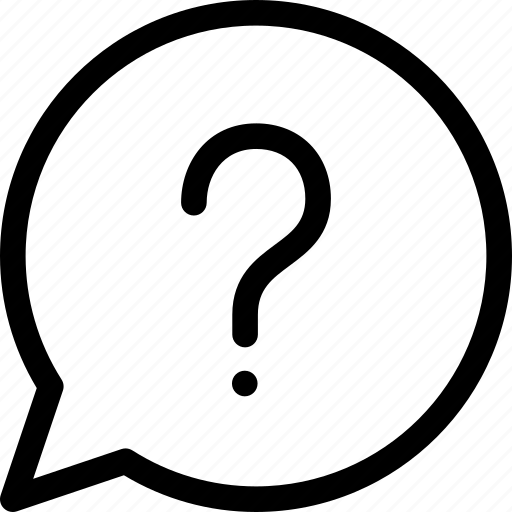 faq, help, mark, message, question, support icon