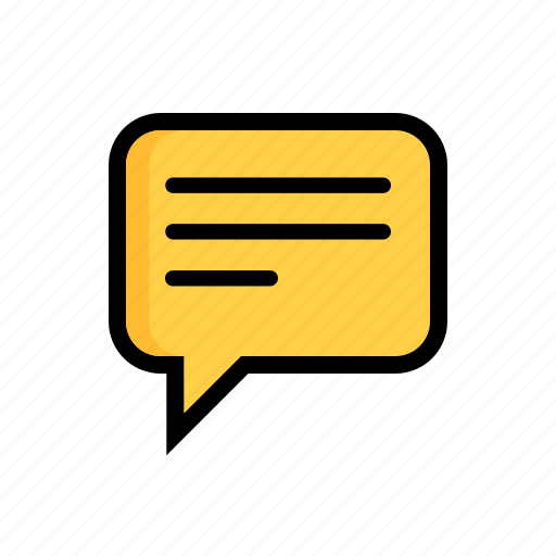 Monologue, balloon, chat, chatting, comment, speech, talk icon - Download on Iconfinder