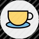 coffee, coffee cup, cup, hot tea cup, tea, tea cup icon