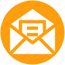 email, envelope, letter, mail, message