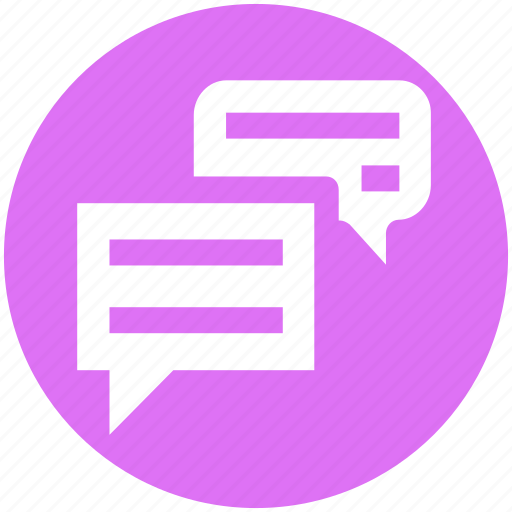 chat, comment, conversation, message, sms, talk icon