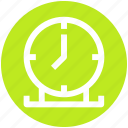 alarm, clock, time, time keeper, timer, wall clock icon