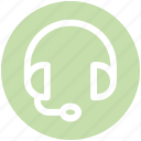 contact, device, earphone, head phone, headphone, sound icon