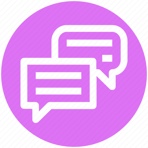 Chat, comment, conversation, message, sms, talk icon - Download on Iconfinder
