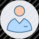 accountant, avatar, man, officer, profile, user