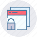 browser, lock, secure, security, web pages, web sites