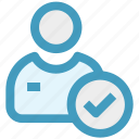 accept, add, businessman, good, man, user icon