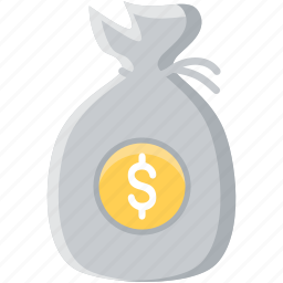 bag, business, cash, currency, finance, financial, money icon