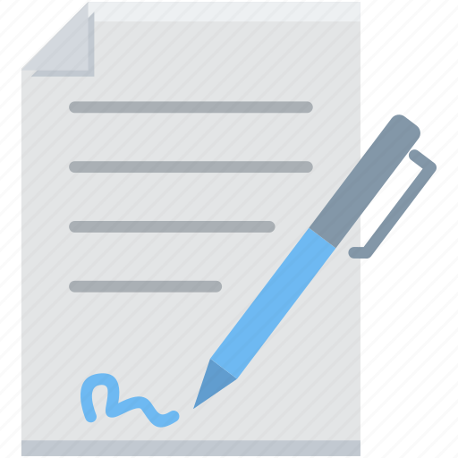 agreement, document, documents, page, paper, papers, sign icon