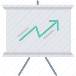business, chart, diagram, graph, growth, office, report icon