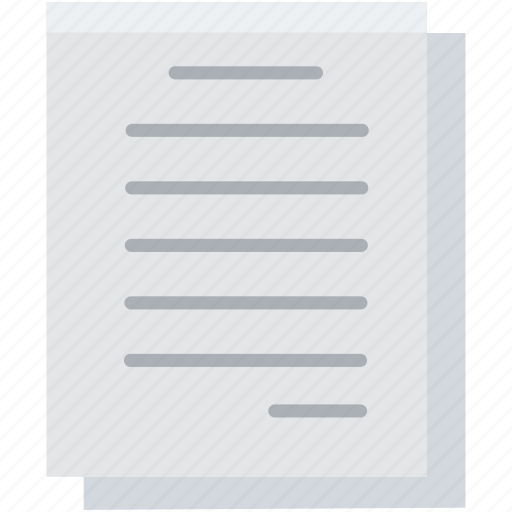 agreement, document, file, page, paper, sheet, text icon