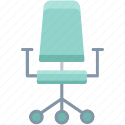 armchair, business, chair, furniture, office, official, work icon