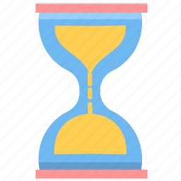 hour, hourglass, sand, sandglass, schedule, time, wait icon