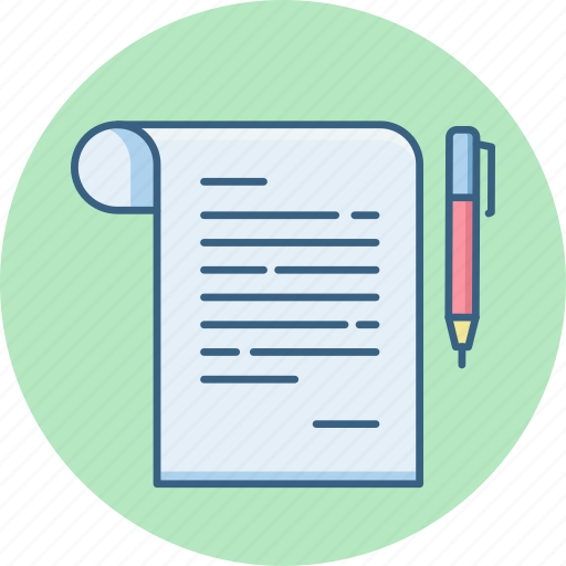 agreement, contract, document, notepad, notes, official, papers icon