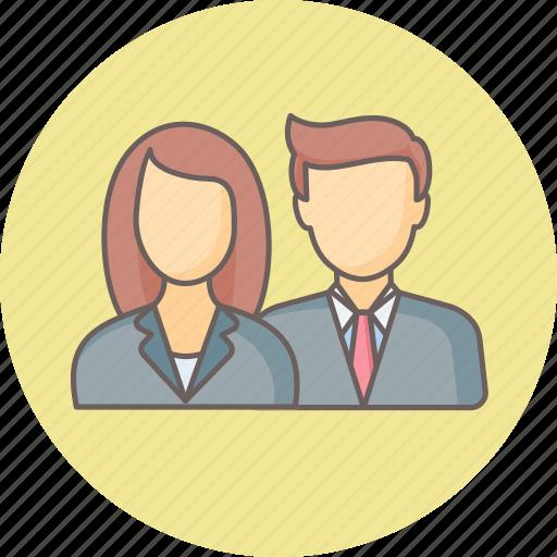 account, customer, customers, female, male, user, users icon