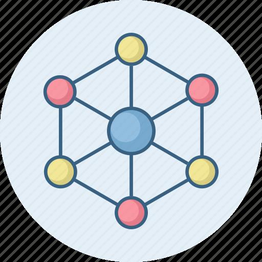 Atom, molecule, physics, science icon - Download on Iconfinder