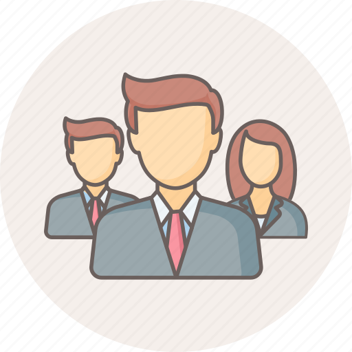 finance, group, management, office, team, users icon