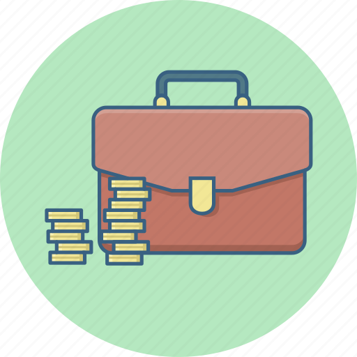 bag, business, money, office, suitcase icon