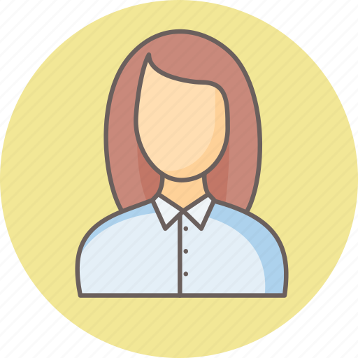 Employee, female, lady icon - Download on Iconfinder