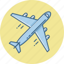 aeroplane, air plane, business, business tour, flight, official, tour icon