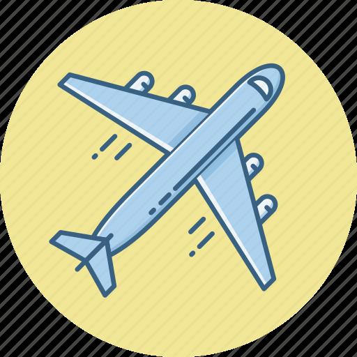 aeroplane, air plane, business, business tour, flight, official, tour icon