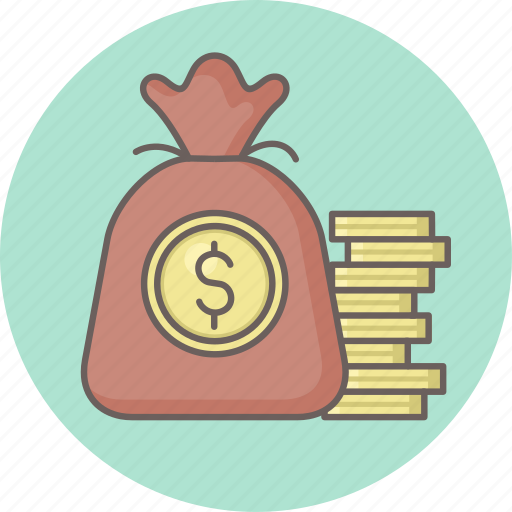 Bag, growth, money icon - Download on Iconfinder