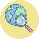 country, find, location, map, search icon