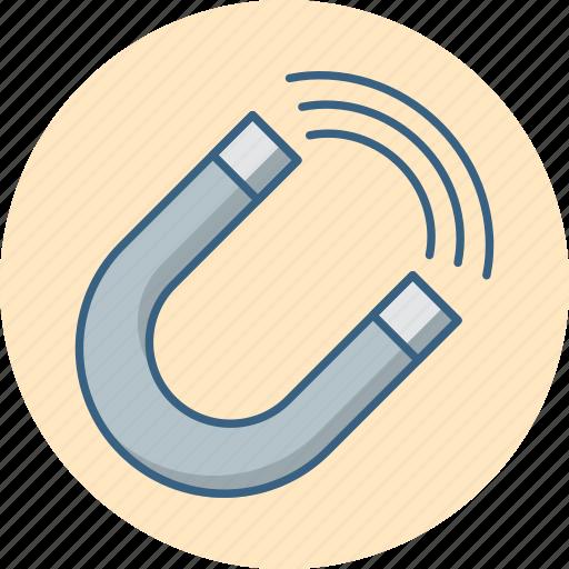 attract, attraction, customer, integeration, magnet, user icon