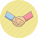agreement, cooperation, deal, handshake, partnership, shakehand icon