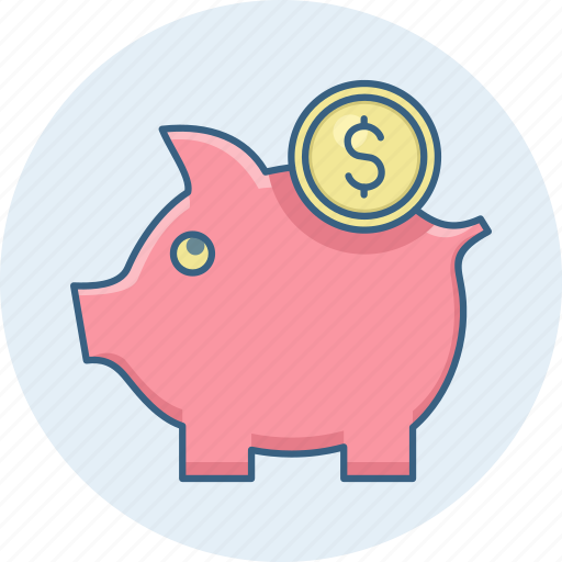 bank, banking, cash, funds, guardar, piggy, save, savings icon