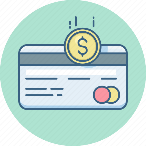 card, credit, dollar, online, pay, payment icon