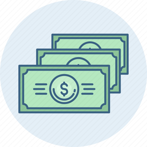 cash, currency, dollar, finance, money, paper icon