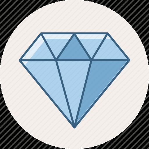 diamond, gem, jewel, jewelry, quality icon