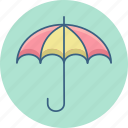 funds, invest, investment, protection, security, umbrella icon