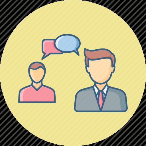 bubble, chat, conversation, dialouge, message, talk icon