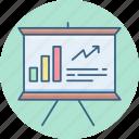 board, business, presentation, chart, graph